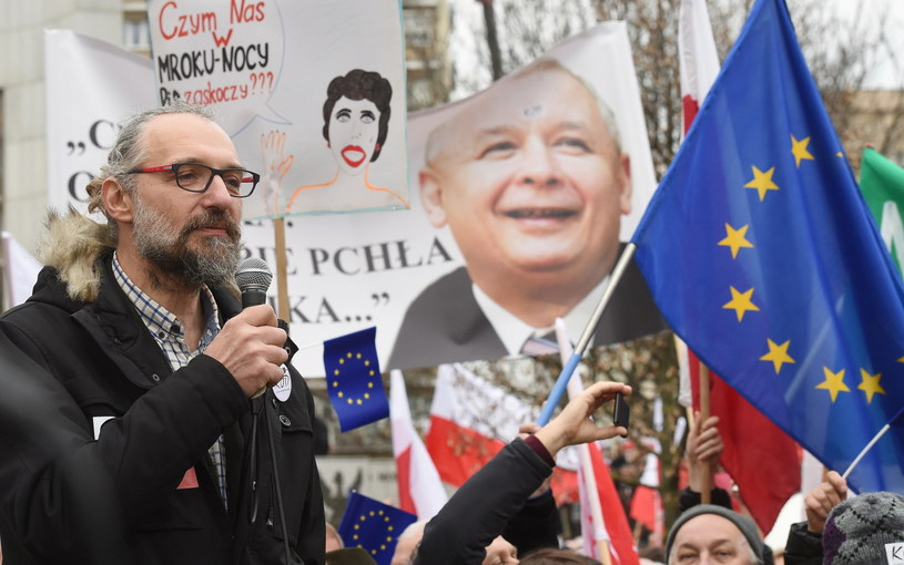 Mateusz Kijowski /Radek Pietruszka /PAP