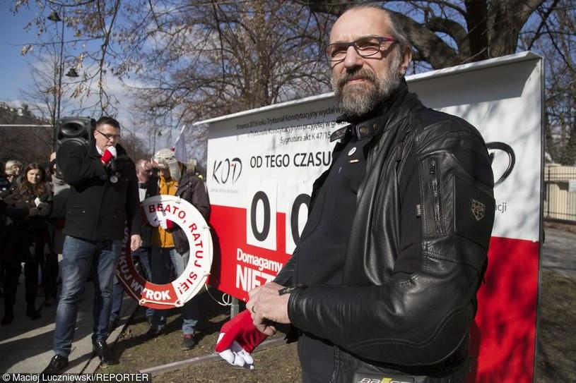 Mateusz Kijowski /Maciej Luczniewski/REPORTER /East News