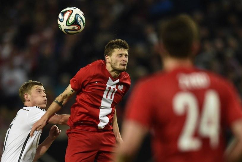 Mateusz Klich marzy o grze w reprezentacji Polski /AFP