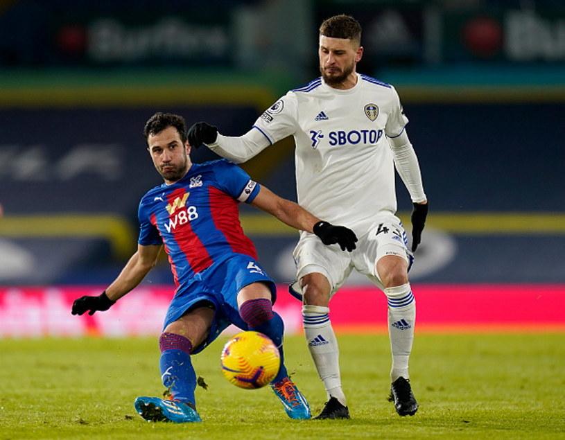 Mateusz Klich (w białej koszulce) i Luka Milivojević / Tim Keeton - Pool /Getty Images
