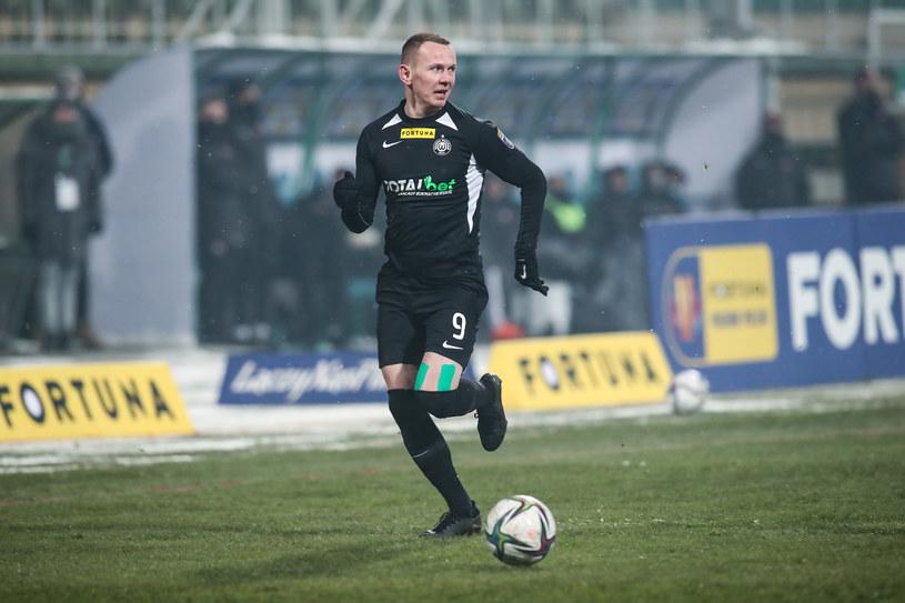 Mateusz Kuzimski z Warty Poznań /Jakub Piasecki /Newspix
