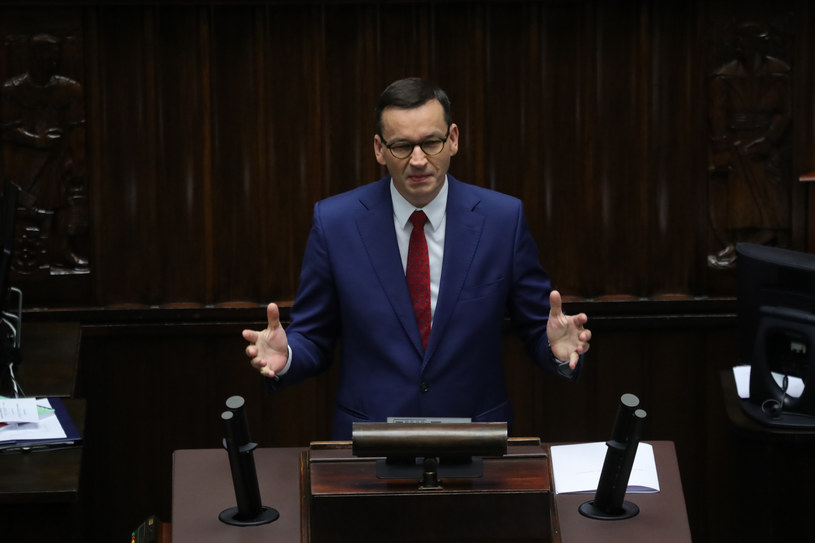 Mateusz Morawiecki 22 lipca w Sejmie /Piotr Molecki /East News