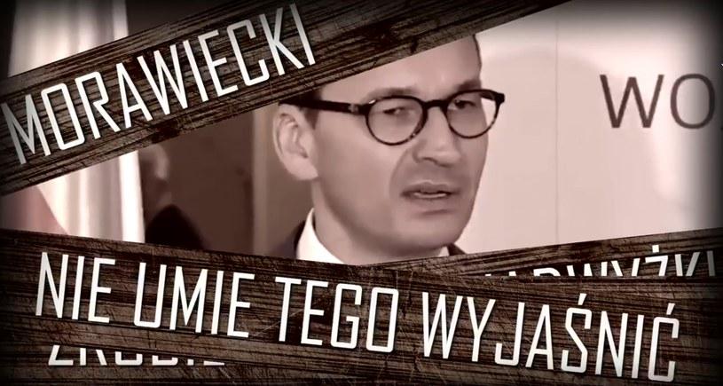 Mateusz Morawiecki bohaterem nowego spotu PO /Interia.pl /