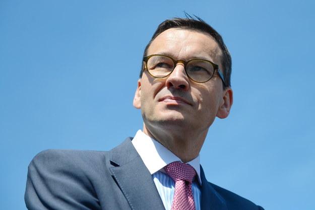 Mateusz Morawiecki /fot. Adam Staskiewicz /Agencja SE/East News