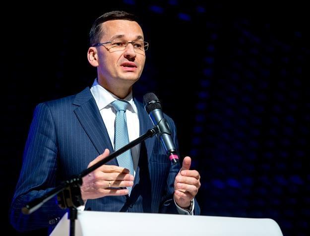 Mateusz Morawiecki /fot. Andrzej Grygiel /PAP