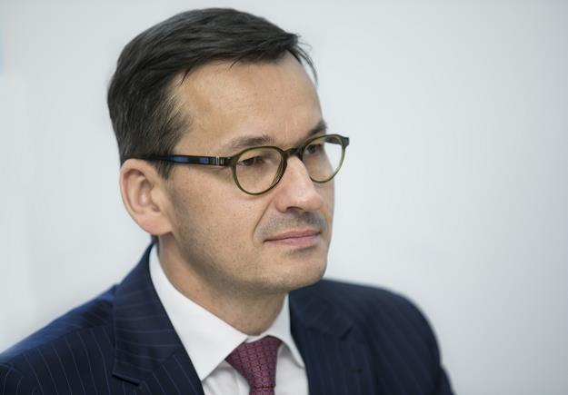 Mateusz Morawiecki /fot. Leszek Kotarba /East News