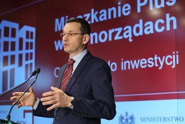 Mateusz Morawiecki /fot. Leszek Szymański /PAP
