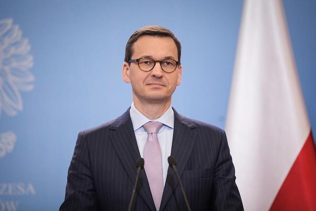 Mateusz Morawiecki /fot. Łukasz Zakrzewski /Reporter