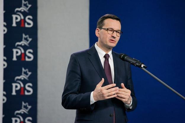 Mateusz Morawiecki /fot. Mateusz Marek /PAP