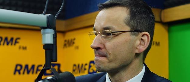 Mateusz Morawiecki. Fot. Michał Dukaczewski /RMF