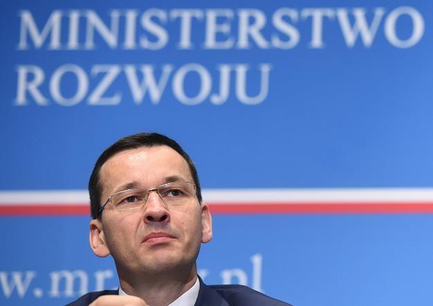 Mateusz Morawiecki /fot. Radek Pietruszka /PAP