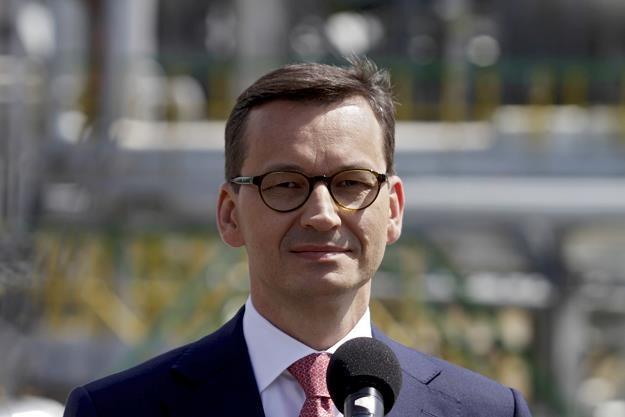 Mateusz Morawiecki /fot. Valda Kalnina /PAP/EPA