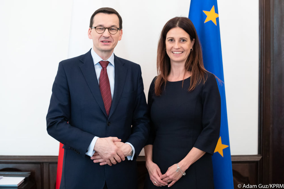 Mateusz Morawiecki i Danuta Dmowska-Andrzejuk /Oficjalny profil Mateusza Morawieckiego /Facebook