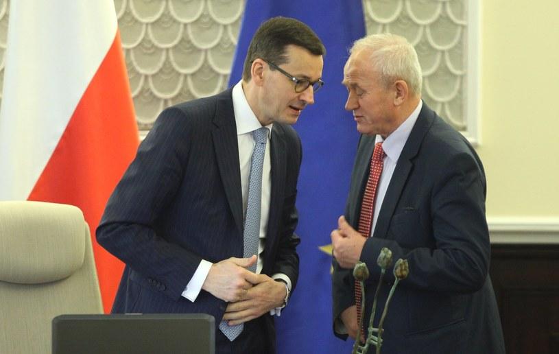Mateusz Morawiecki i Krzysztof Tchórzewski /Stefan Maszewski /Reporter