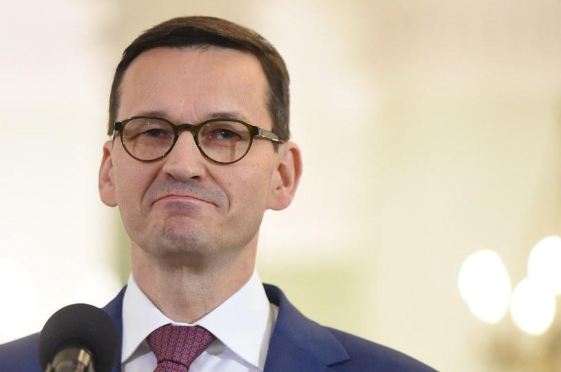 Mateusz Morawiecki jest ceniony w Brukseli /Rafał Oleksiewicz /Reporter