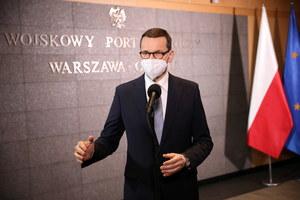Mateusz Morawiecki komentuje wizytę we Francji: Szczepionki, NATO i energia atomowa