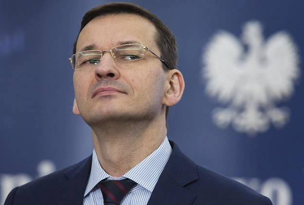 Mateusz Morawiecki, minister finansów i rozwoju. Fot. Andrzej Hulimka /Reporter