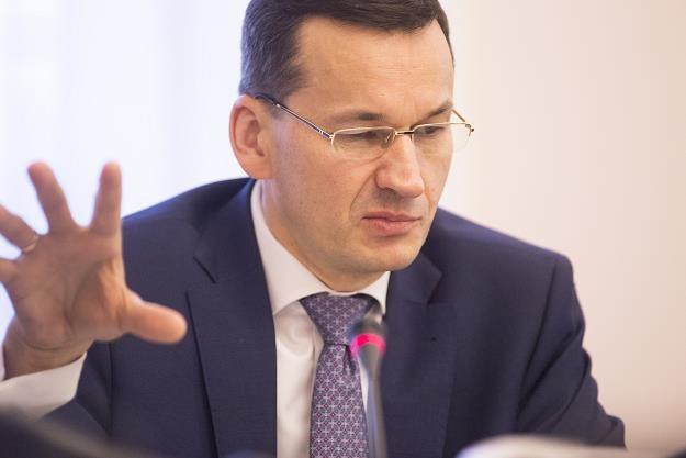 Mateusz Morawiecki, minister finansów, rozwoju, wicepremier i szef KERM. Fot. Maciej Luczniewski /Reporter