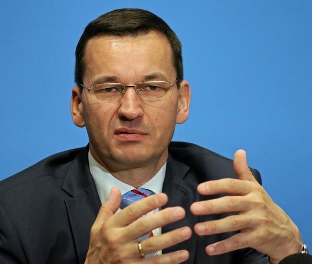 Mateusz Morawiecki, minister rozwoju, finansów i szef KERM. Fot. Sławomir Kamiński /AGENCJA GAZETA