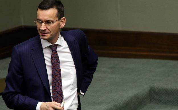 Mateusz Morawiecki, minister rozwoju. Fot. Sławomir Kamiński, źródło: Agencja Gazeta /