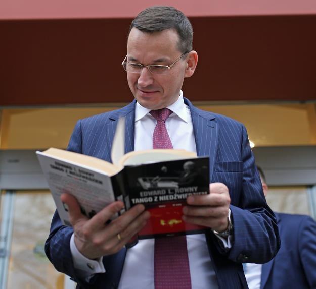 Mateusz Morawiecki, minister rozwoju i finansów, w czasie wizyty w USA. Fot. MR /Informacja prasowa