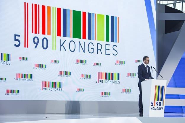 Mateusz Morawiecki na Kongresie 590 w 2017 r. Fot. Grzegorz Bukała /Reporter