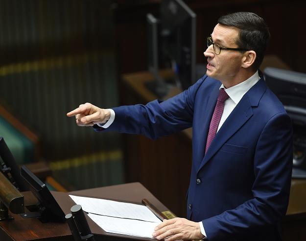 Mateusz Morawiecki, premier, minister finansów i rozwoju /PAP