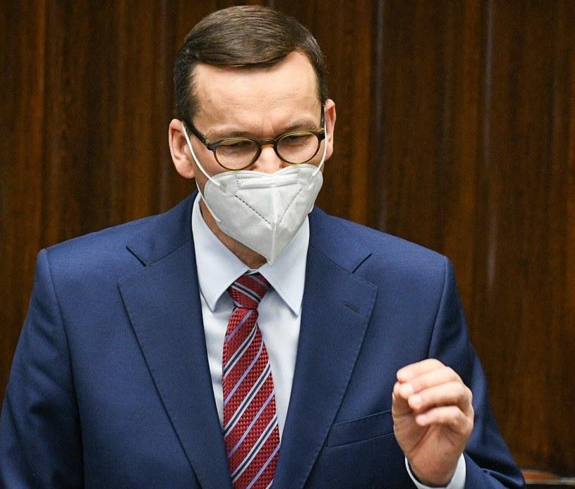 Mateusz Morawiecki, premier rządu RP / Jacek Domiński /Reporter