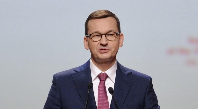 Mateusz Morawiecki, premier rządu RP /AFP