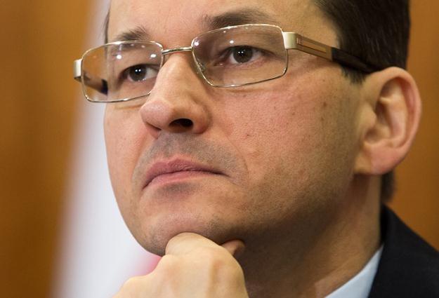 Mateusz Morawiecki, prezes BZ WBK. Fot. Andrzej Iwańczuk /Reporter