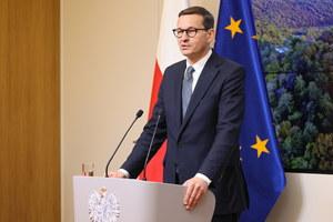 Mateusz Morawiecki reaguje na wyrok europejskiego trybunału