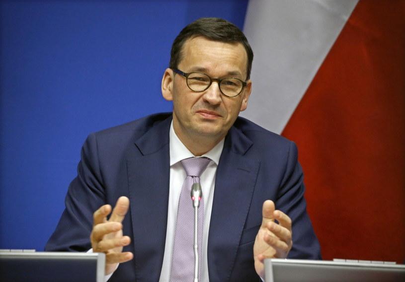 Mateusz Morawiecki w Brukseli /JULIEN WARNAND /PAP/EPA