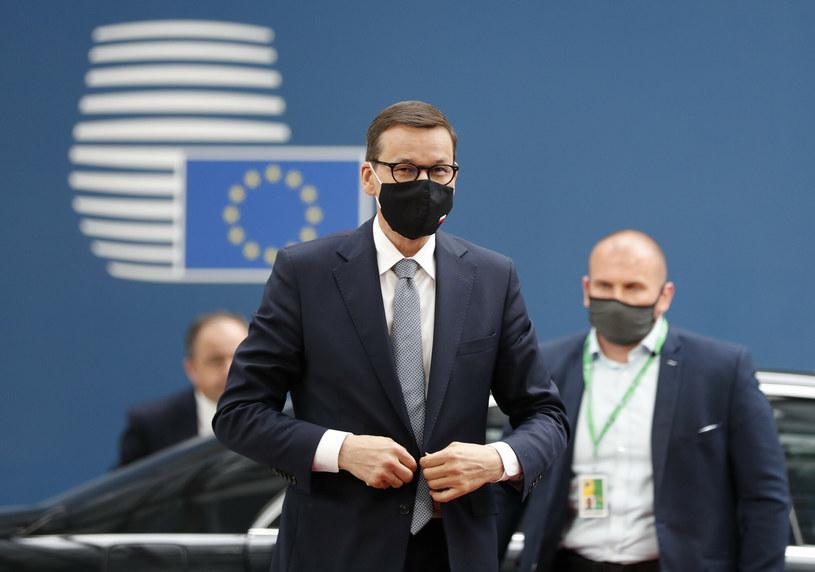 Mateusz Morawiecki w Brukseli /Pool Reuters/Associated Press/East News /East News
