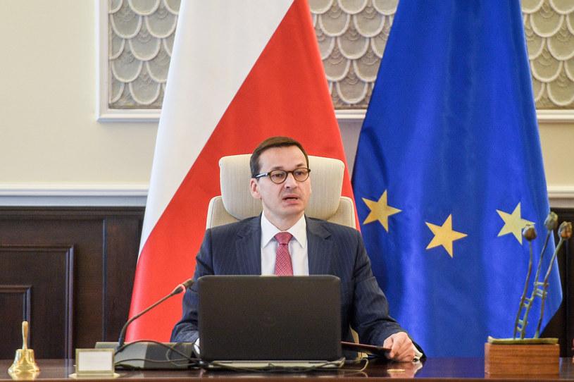 Mateusz Morawiecki w czasie posiedzenia rządu /Jacek Dominski/ /East News