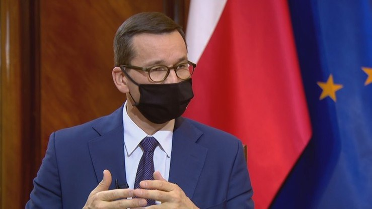 """Mateusz Morawiecki w """"Gościu Wydarzeń"""" /Polsat News"""