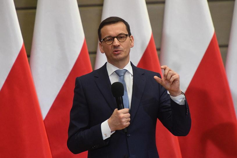 Mateusz Morawiecki w Krakowie /Jacek Bednarczyk   /PAP