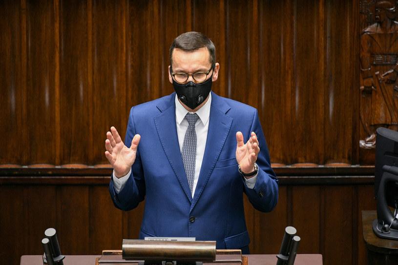 Mateusz Morawiecki w Sejmie / Jacek Dominski /REPORTER /East News