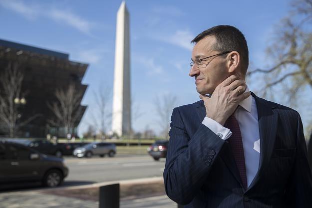 Mateusz Morawiecki w Waszyngtonie /EPA