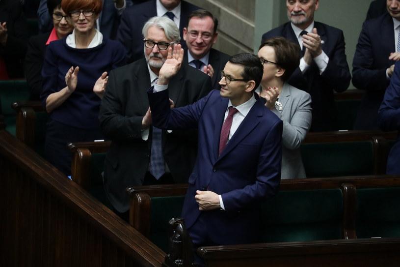 Mateusz Morawiecki we wtorek w Sejmie /Tomasz Gzell /PAP
