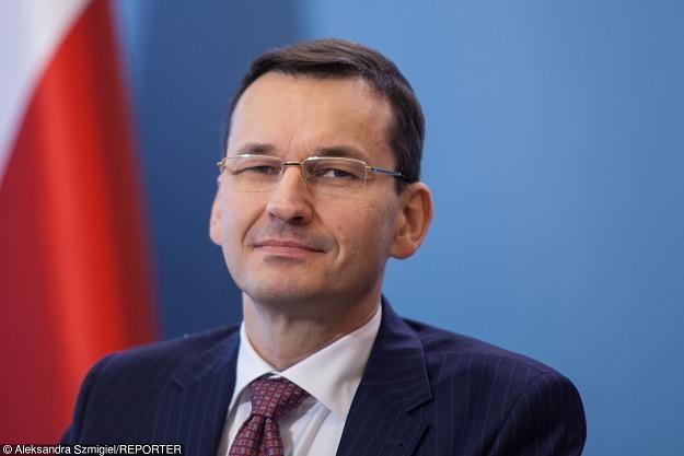 Mateusz Morawiecki, wicepremier. Fot. Aleksandra Szmigiel-Wisniewska /Reporter