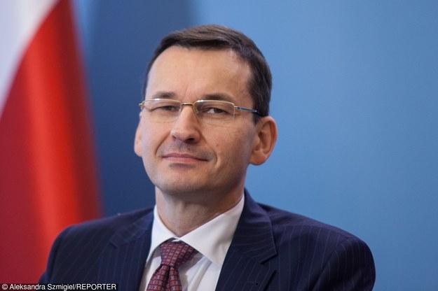 Mateusz Morawiecki, wicepremier i minister rozwoju. Fot. Aleksandra Szmigiel-Wiśniewska /Reporter