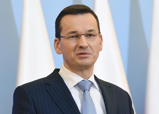 Mateusz Morawiecki, wicepremier, minister rozwoju i finansów. Fot. Radek Pietruszka /PAP