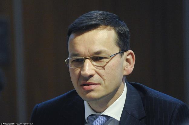 Mateusz Morawiecki. wicepremier, minister rozwoju, minister finansów RP. Fot. Wojciech Stróżyk /Reporter