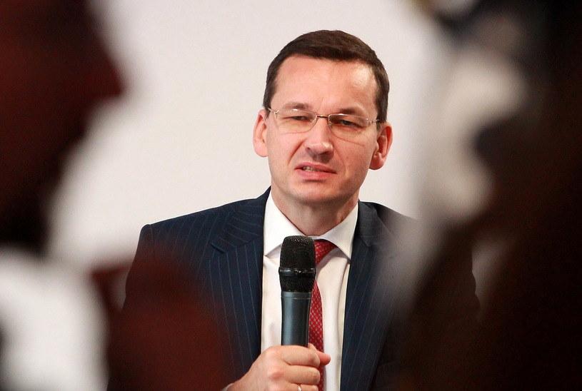 Mateusz Morawiecki wygrałby walkę o fotel prezydenta Warszawy? /PAP