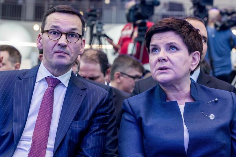 Mateusz Morawiecki zmieni Beatę Szydło na fotelu premiera? /Mariusz Gaczyński /East News