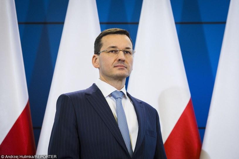 Mateusz Morawiecki został członkiem PiS /Andrzej Hulimka/Reporter /East News