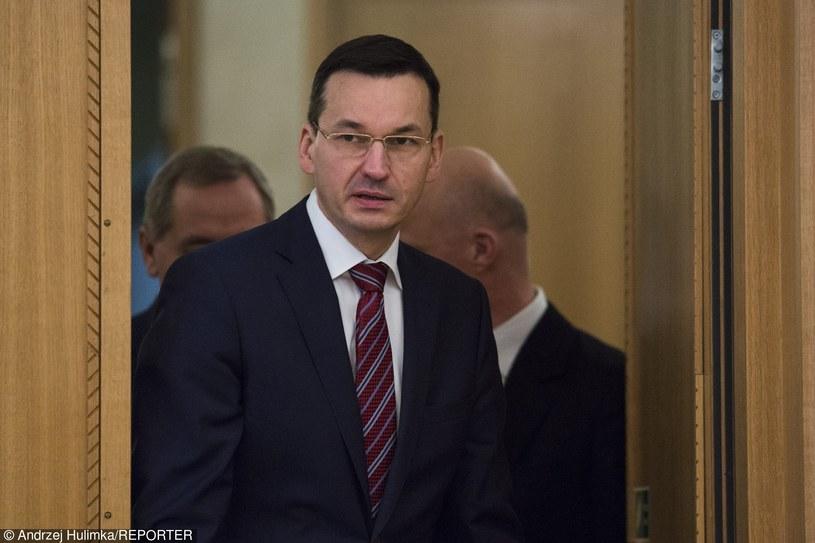 Mateusz Morawiecki /Andrzej Hulimka/Reporter /Reporter