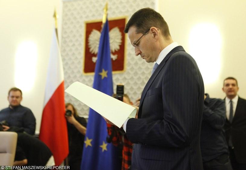 Mateusz Morawiecki /STEFAN MASZEWSKI/REPORTER /East News