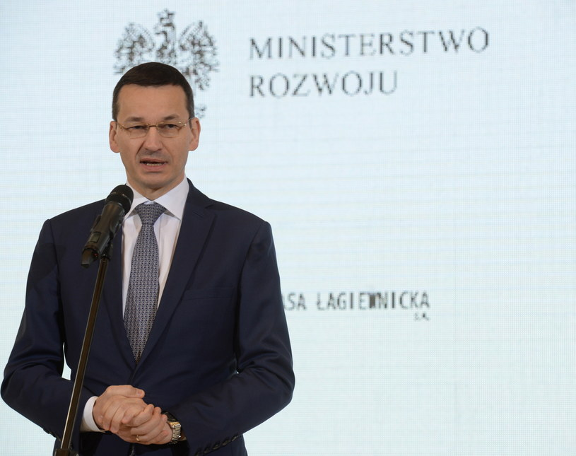 Mateusz Morawiecki /Jacek Turczyk /PAP