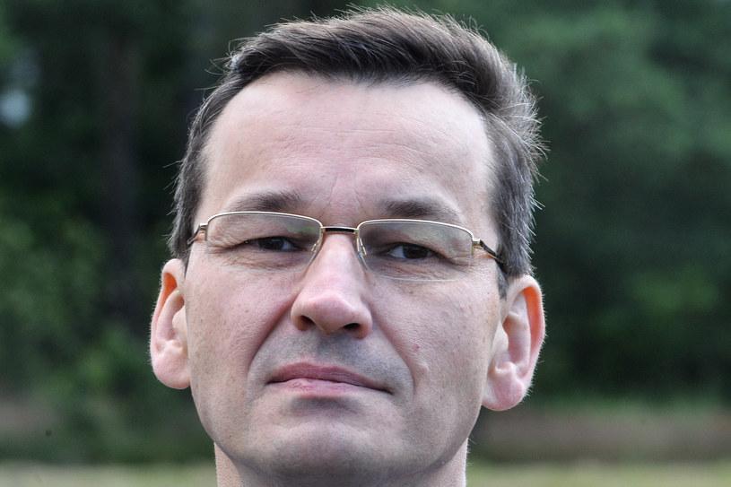 Mateusz Morawiecki /Łukasz Dejnarowicz /Agencja FORUM